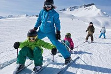 Laax provides great slopes for intermediates which are fantastic for practicing skiing techniques
