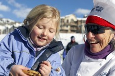 At Beaver Creek you can grab a cookie between runs to tide you by!
