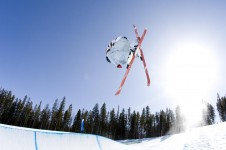 In Beaver Creek, freestyle skiers and snowboarders have access to an entry level, intermediate or advanced level park.