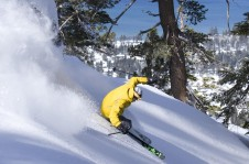 Almost half of Heavenly's ski area is rated intermediate.