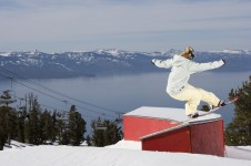 An excellent resort for freestyle skiers and snowboarders with loads of off piste and four healthy parks.