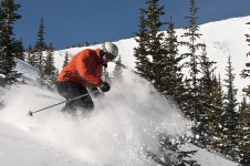 Intermediate trails are plentiful in Keystone, some reaching 5km in length.
