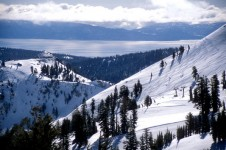 Squaw valley is a great choice for beginner skiers with excellent lifts, helpful staff and areas of easy terrain.