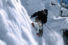 Excellent advanced level terrain, Squaw Valley attracts winter sports legends like Shane McConkey and Jeremy Jones.