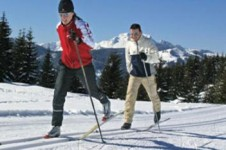 Cross country skiing is popular in Whistler, with Lost Lake providing many scenic routes and trails