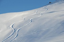 New tracks made on Valmeinier's slopes by powder lovers