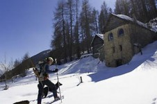 Just 45 minutes from Isola 2000 there are some beautiful unspoiled natural landscapes to explore on cross country skis