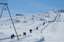 Les Diablerets is an excellent resort for beginners; Copyright: Les Diablerets Tourist Office