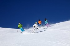 There are ample opportunities for intermediates to ski both tree-lined and wide pistes in La Clusaz