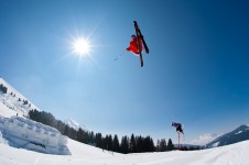 La Clusaz was home to one of the first terrain parks in Europe