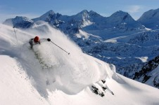 Contact the ski school office to find out about La Rosière's more challenging slopes and off piste runs