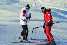 Take a lesson with La Toussuire's Ecole du Francais ski school and learn to ski from the experts