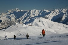 Intermediates have a great expanse of terrain to enjoy and explore in La Toussuire