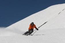 Explore the terrain in La Toussuire