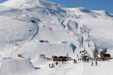 Check out the features in La Toussuire's snow park