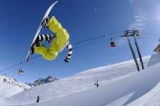 If your looking for a park head over to The Plattières snowpark in Meribel- St Martin de Belleville's neighboring resort