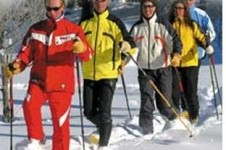 Cross country skiing is not the best in La Rosière, but there are still some trails suited to the more experienced