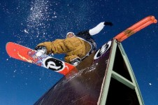 A top resort for snowboarders with its well maintained Gran Masta Park