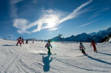 Villars, a fantastic resort for learning to ski.