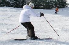 The Espace des Mappys is the place to learn to ski in Les Gets