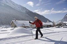 Cross-Country skiing in Champagny