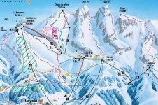 Leysin is a great resort for intermediate skiers
