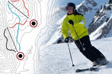 Although not well know as an advanced skiing destination, there are two black runs and great off piste in Leysin