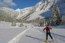La Grand Bornand is a really good resort for Cross Country Skiing