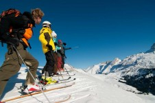 There is up to 90km of piste that is suited to intermediates in Le Grand Bornand