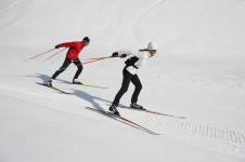 Klosters is a great resort for Cross Country Skiing; Copyright: Klosters Tourist Office