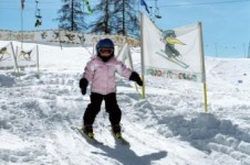 Klosters is an ideal resort for children to learn to ski; Copyright: Klosters Tourist Office