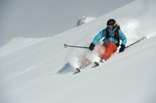 Klosters boasts extensive terrain for Advanced Skiiers; Copyright: Klosters Tourist Office
