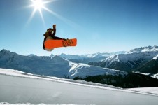 Klosters is an awesome resort for snowboarding