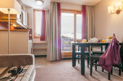Apartment Interior - Residence Le Quartz – Belle Plagne