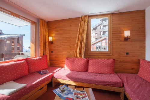 1 Bedroom Apartment - 6 People - Beryl-Emeraude - Belle Plagne
