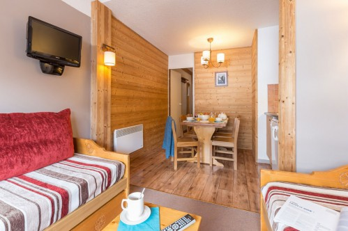 Studio apartment -Les Sentiers du Tueda-Meribel-France