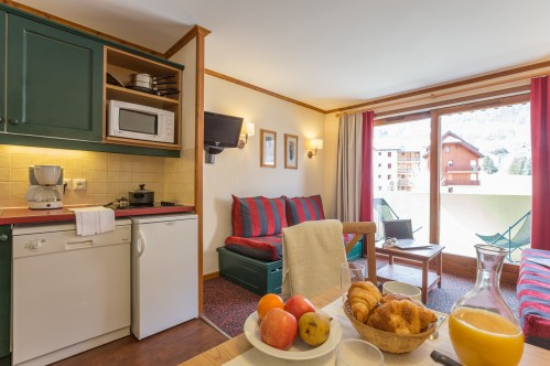 Studio - Sleeps 4 - L'Alpaga - Serre Chevalier