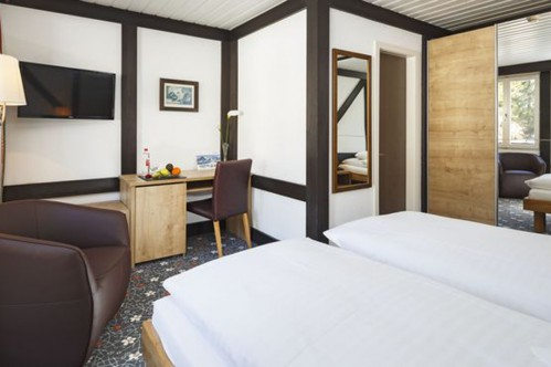 A Standard Twin or Double Room - Hotel Derby - Grindelwald