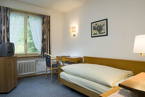 A Standard Single Room - Hotel Berghaus - Wengen