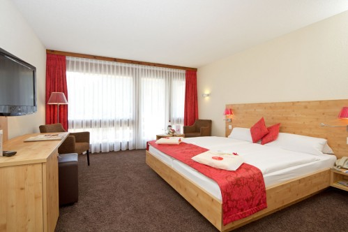 A Superior Room - Central Sporthotel - Davos - Switzerland