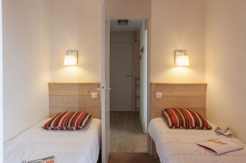 Twin bedroom - Plagne Lauze - La Plagne