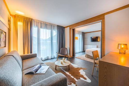 Hotel Le Morgane - Junior Suite - Chamonix; Copyright: Temmos