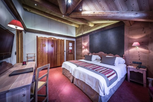 Hotel Christiania - Standard Bedroom - Val d'Isere