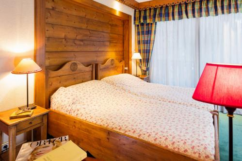 Family bedroom at Hotel Les Airelles in Morzine