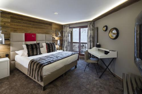 Duo double bedroom Hotel Koh-I Nor Val Thorens