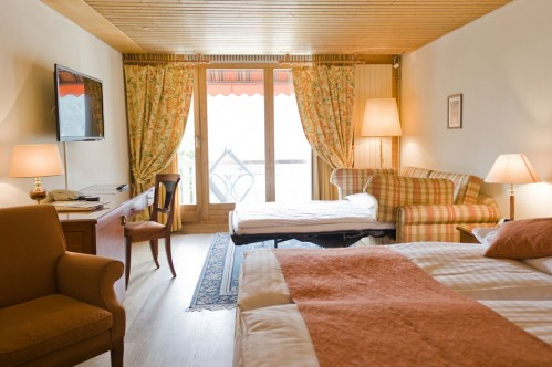 Triple Room at Hotel Silberhorn - Wengen - Switzerland