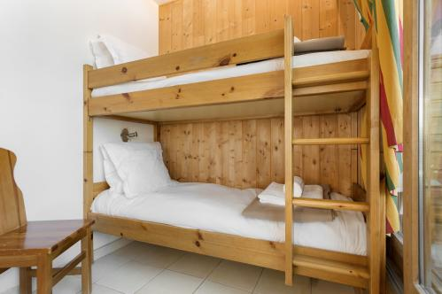 Example of the bedroom in Les Chalets d'Isola, Isola 2000