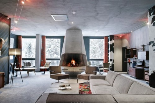 Loft Suite at Terminal Neige Totem in Flaine
