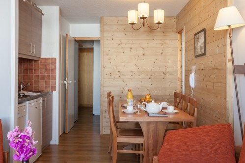 Studio apartment - Residence les Constellations - La Plagne