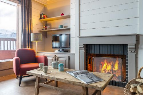 Double Bedroom - Les Chalets de Rosael - Val Thorens